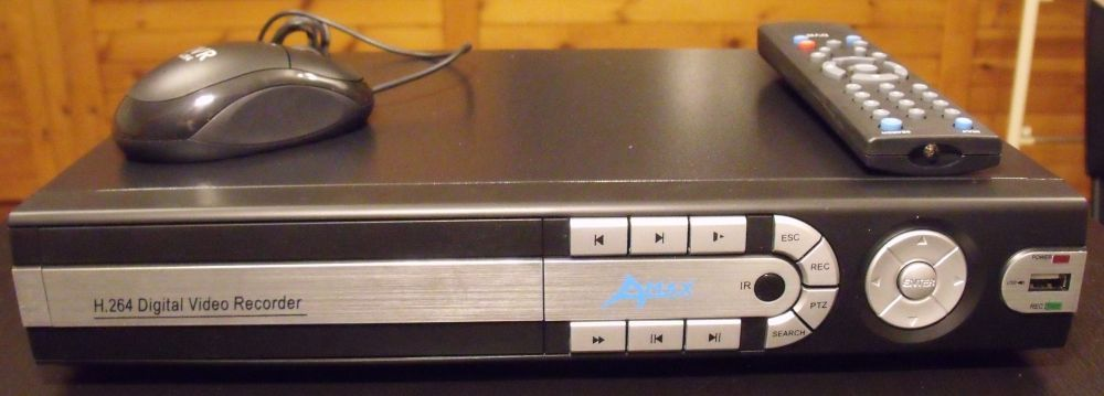 KPC 8 kamera asztali dvr rgzt 0008