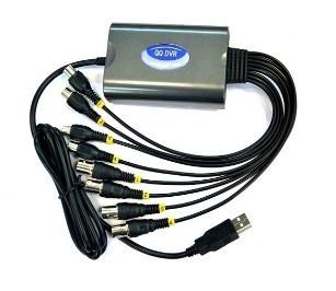 KPC 4 kamerás Full D1 USB DVR rögzítő