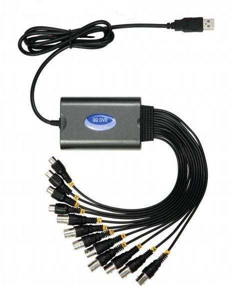 KPC 8 kamerás Full D1 USB DVR rögzítő