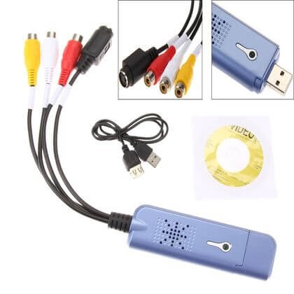 Easycap videó digitalizálás, USB digitalizáló DVD felvevő dc60