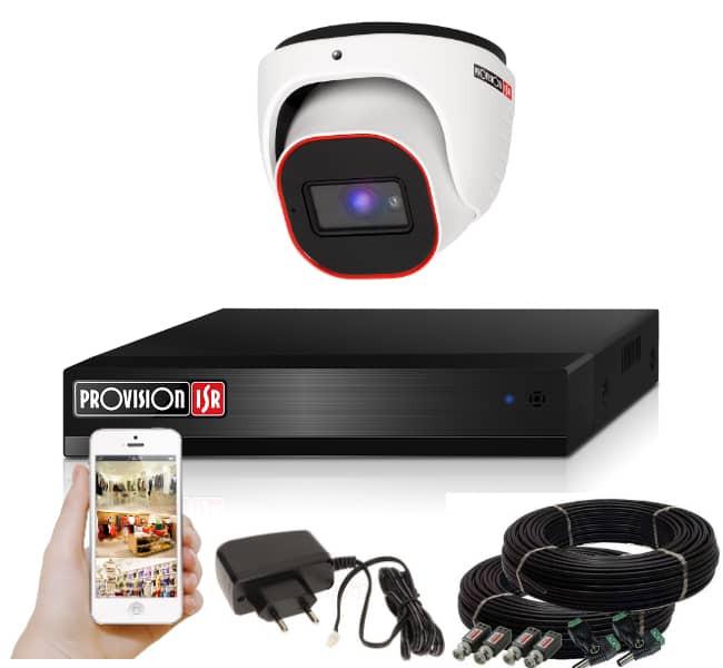 Provision AHD-23 dome 1 kamerás megfigyelő kamerarendszer 2MP FULL HD