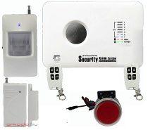 Vezeték nélküli riasztó rendszer GSM-SMS jelzés 73 zónás 10C