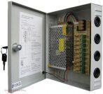 SUNWOR SCPS-1210-9 kamera tápegység 9 csatorna 12VDC 10 A 120W