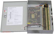 SUNWOR SCPS-1220-18 kamera tápegység 18 csatorna 12VDC 20 A 240W
