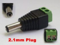 2.1mm CCTV DC Power Adapter Connector
