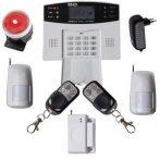 Global GSM-SMS vezeték nélküli riasztó rendszer 2db PIR 99 zónás