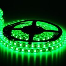 LED szalag 60 LED/m 5050 SMD zöld IP 65 kültéri vízálló