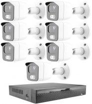 KPC Ts23 Kamerasystem mit 7 Kameras mit NachtsichtHD 1280X720P Auflösung