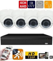 4 kamerás AHD kamerarendszer