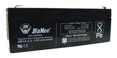 DIAMEC DM 12V 2.2 Ah zselés akkumulátor