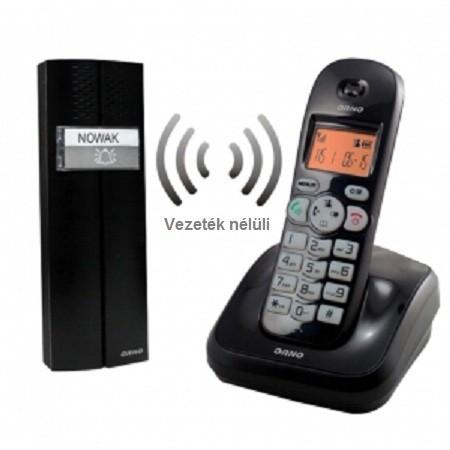 Egylakásos vezeték nélküli kaputelefon beépített vezetékes telefon lehetőséggel ORNO CL-3624