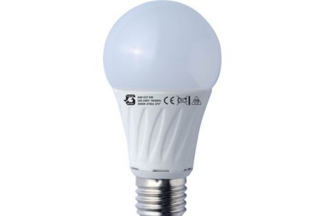 LED izzó A60 6W E27 220-240V ̴ 50/60HZ 3000K