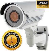 AHD-42 éjjellátó kültéri infra kamera 2.8-12 mm 5 X zoom 720P 1280x720 felbontással