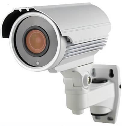 AHD-72 éjjellátó kültéri infra AHD kamera 2.8-12 mm 5 X zoom 720P 1280x720 felbontással