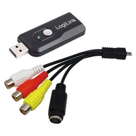 LogiLink VG0005B digitalizáló Win7 Win8