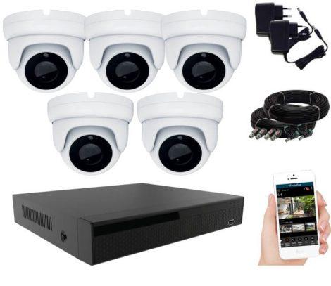 5 kamerás éjjellátó kamerarendszer