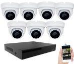 KPC Ts28 - Kamerasystem mit 7 Kameras mit Nachtsicht FullHD 1920x1080P Auflösung