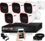 Provision 23 ledes 5 kamerás AHD kamerarendszer