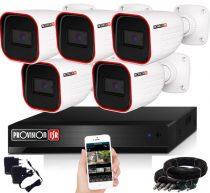 Provision AHD-23 Überwachungssystem mit 5 Kameras FullHD 1920x1080P Auflösung