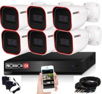 Provision 23 ledes 6 kamerás AHD kamerarendszer