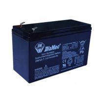 DIAMEC DM 12V 7 Ah zselés akkumulátor