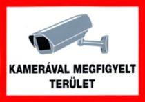 Der Bereich wir durch Kamera überwacht /Schild/