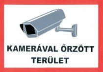 Der Bereich wird Videoüberwacht /Aufkleber/