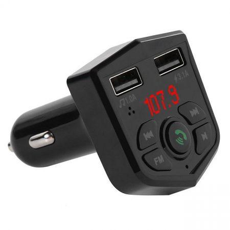 AlphaOne 803E Blutetoothos FM transmitter a biztonságos zenehallgatáshoz