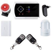 Security vezeték nélkül lakásriasztó GSM-SMS okostelefon