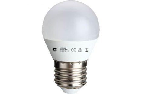 LED izzó G45 5W E27 220-240V ̴ 50/60HZ 3000K