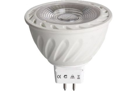 LED izzó MR16 5W AC/DC12V 3000K