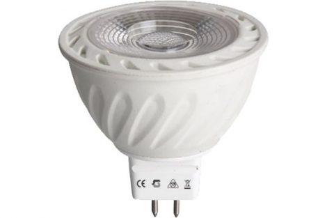 LED izzó MR16 5W AC/DC12V 3000K
