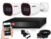Provision AHD-36 Überwachungssystem mit 2 Kameras HD 1280X720