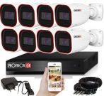 Provision AHD-36 8 kamerás megfigyelő kamera