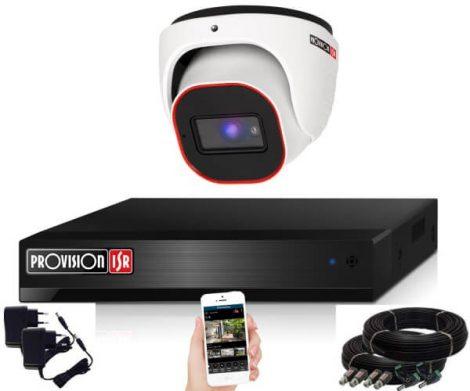 Provision Full HD36 dome Überwachungssystem mit 1 Kamera