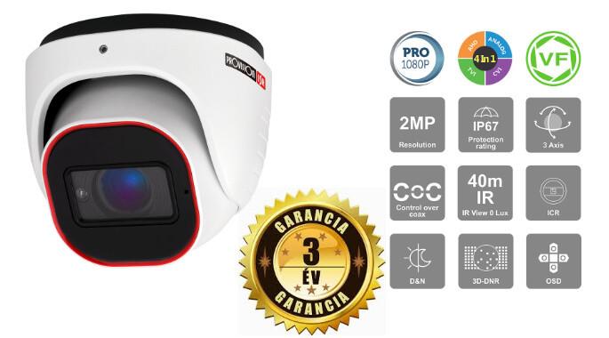 Security Kamera 2 MegaPixel mit Nachtsicht