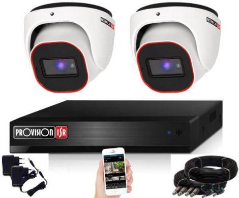 Provision Full HD36 dome Kamerasystem mit 2 Kameras