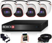 Provision Full HD36 dome Kamerasystem mit 4 Kameras