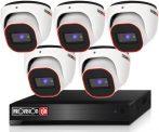 Provision Full HD36 dome Kamerasystem mit 5 Kameras