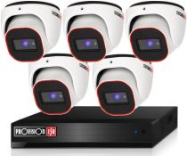 Provision Full HD36 dome 5 kamerás megfigyelő kamerarendszer