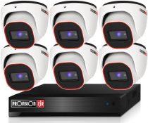 Provision Full HD36 dome 6 kamerás megfigyelő kamerarendszer