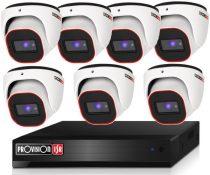 Provision Full HD36 dome 7 kamerás megfigyelő kamerarendszer