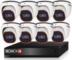 Provision Full HD36 dome Kamerasystem mit 8 Kameras