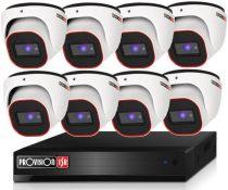 Provision Full HD36 dome 8 kamerás megfigyelő kamerarendszer