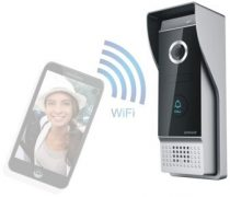 Vezeték nélküli WIFI videó kaputelefon okostelefonos értesítéssel