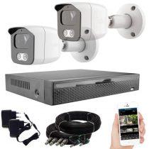 KPC Ts23 Kamerasystem mit 2 Kameras mit NachtsichtHD 1280X720P Auflösung