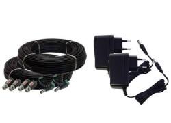 biztonsági rendszer kábelek csatlakozók