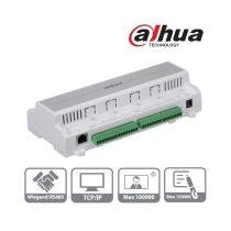 Dahua ASC1202B beléptető rendszer központ, 4 olvasó bemenet (2 ajtó 2 irány) , I/O, RS-485/Wiegand/RJ45,