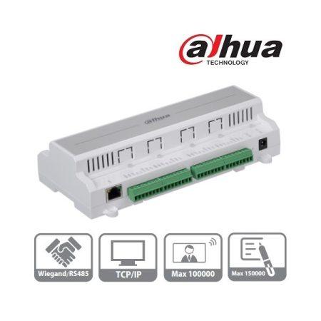 Dahua beléptető rendszer központ - ASC1202B-D (4 olvasó bemenet (2 ajtó 2 irány) , I/O, RS-485/Wiegand/RJ45)