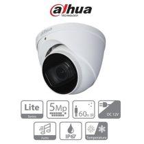 Dahua HAC-HDW1500T-Z-A HDCVI Turret kamera, kültéri, 5MP, 2,7-12mm, IR60m, ICR, IP67, DWDR, audio